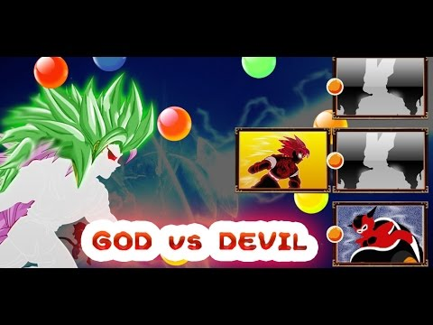 Saiyan Battle of God vs Devil