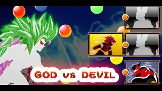Saiyan Battle of Goku Devil