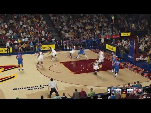 NBA 2K15 Detroit Pistons Vs Cleveland Cavaliers 28-12-2014
