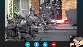 SWATTED ON SKYPE...