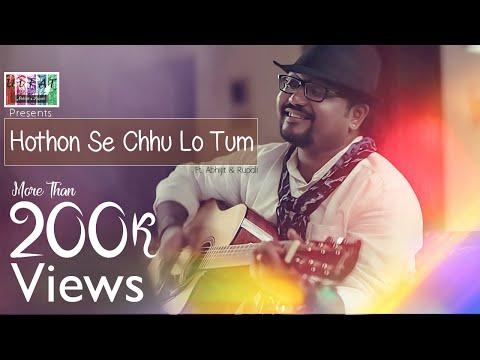 Hothon Se Chhu Lo Tum   Unplugged   ULFAT   ft. Abhijit Sen & Rupali Rakshit