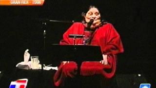 Gran Rex 2006 - Mercedes Sosa - Tonada del Viejo Amor