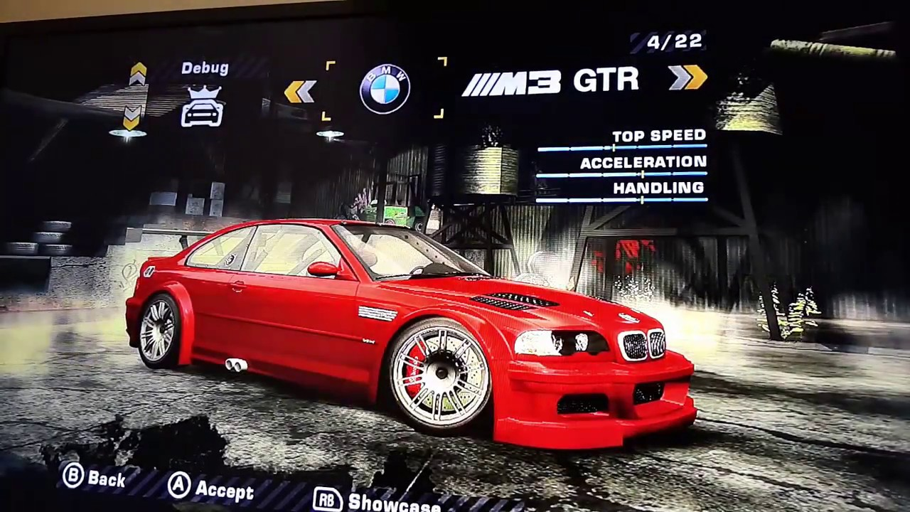 Need For Speed Most Wanted 2005 Xbox 360 Bonus Cops Cars Save Game Xpg Gaming Community