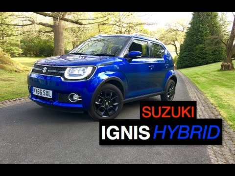 2017 suzuki ignis sz5 allgrip hybrid review inside lane youtube. Black Bedroom Furniture Sets. Home Design Ideas
