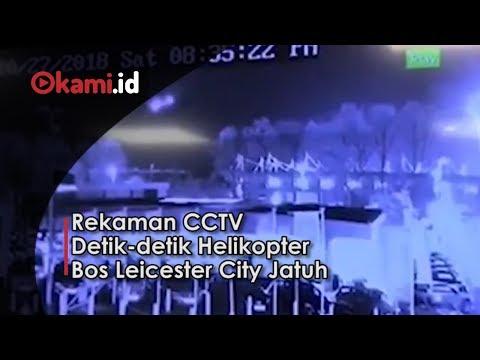 Rekaman CCTV Detik detik Helikopter Bos Leicester City Jatuh Mp3