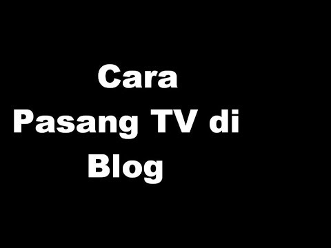 Cara Ambil Embed Live Streaming TV Indonesia Ke Blog Lewat Metube.id