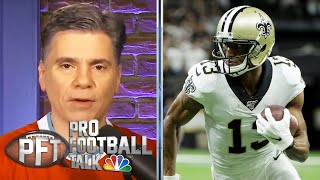 Saints send contract warning to Michael Thomas with fine | Pro Football Talk | NBC Sports