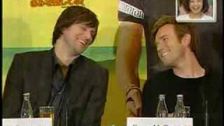 Jim Carrey & Ewan McGregor Interview (I 9 Love You Phil