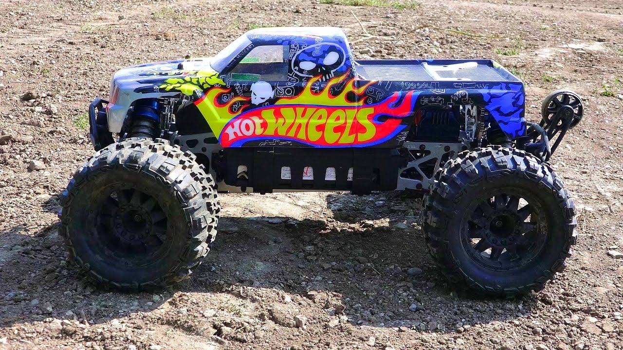Rc Adventures Hot Wheels Savage Flux Hp On Lipo Electric