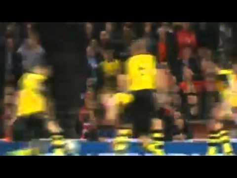 Арсенал-Боруссия 0:1. Гол Мхитаряна 22 10 2013
