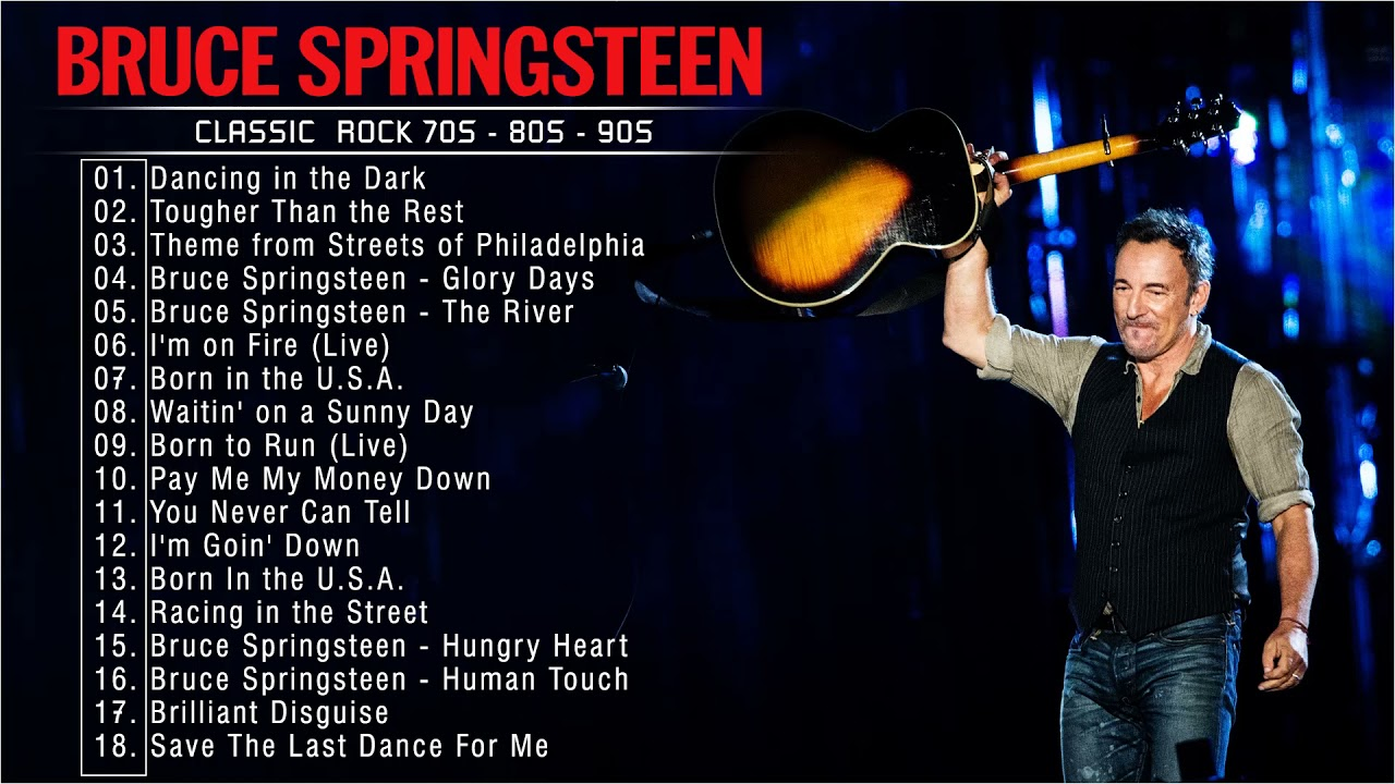 Download Bruce Springsteen Best Playlist 2021 -Bruce Springsteen Greatest Hits Full Album 2021