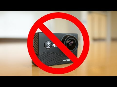 The Problem With Cheap Action Cameras | TecBean 4K Action Camera Review