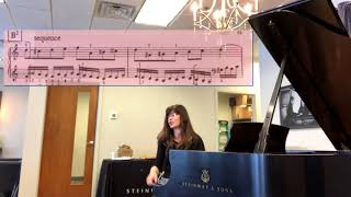 Analyzing Bach's Invention No. 1