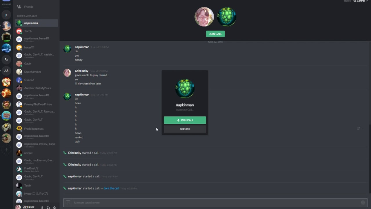 how to video call on discord