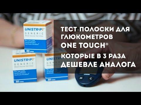 Глюкометр с дешевыми тест полосками