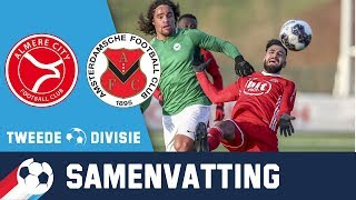 Samenvatting Jong Almere City - AFC 20 januari 2019