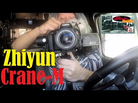 Zhiyun Crane-M Gimbal Unboxing, Review & Test