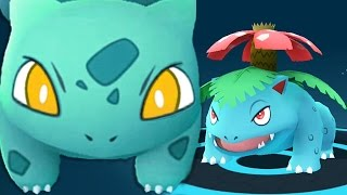 DOUBLE Venusaur FINAL EVOLUTION w/ POKEMON GO LEGENDARY EPIC GYM BATTLE