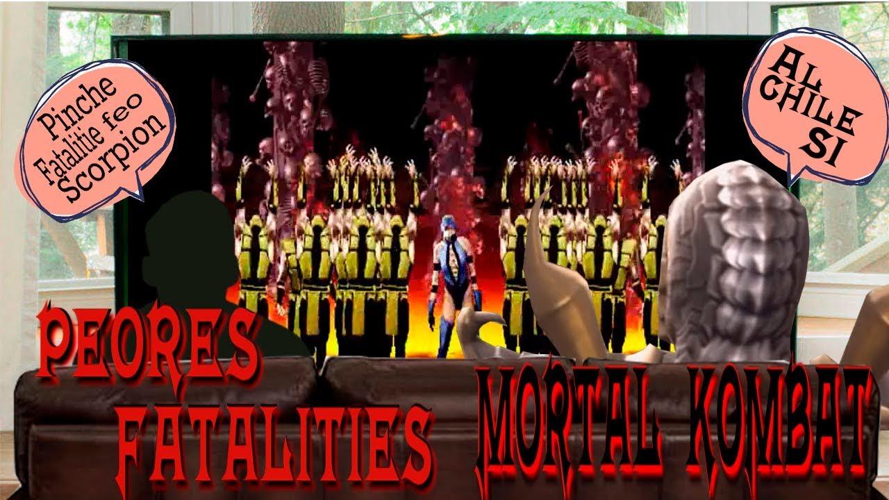LOS PEORES FATALITIES DE MORTAL KOMBAT Pt 1 | TOP 10