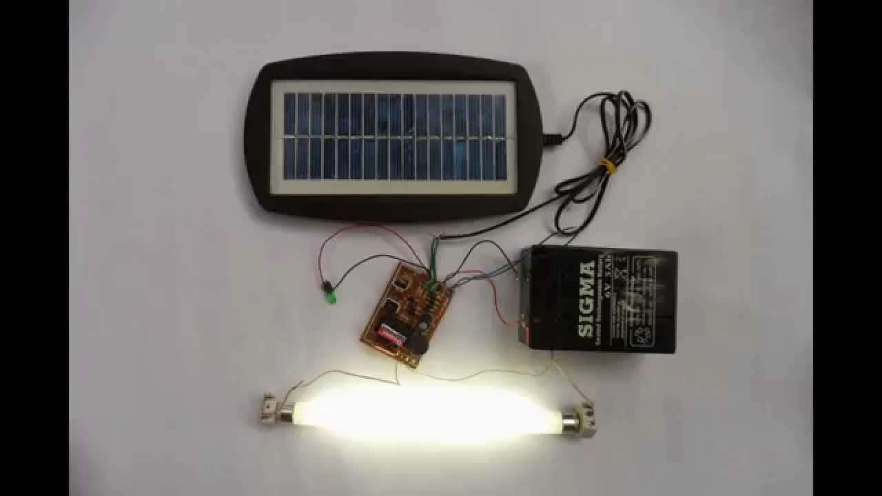 Solar Ed 6v Emergency Light At