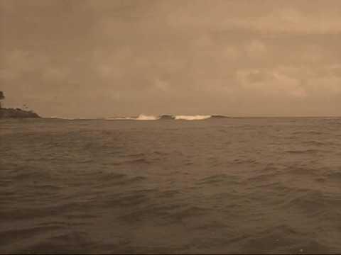 Tonga Surf , island left , Vavau Group