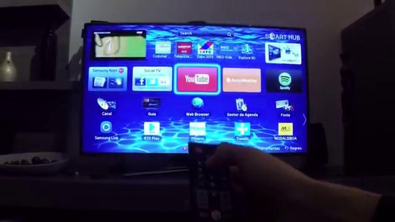 Desbloquear aplicações na smartv Samsung