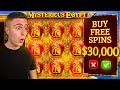 $30,000 Bonus Buy on Mysterious Egypt 🧭 (30K Bonus Buy Series #19)