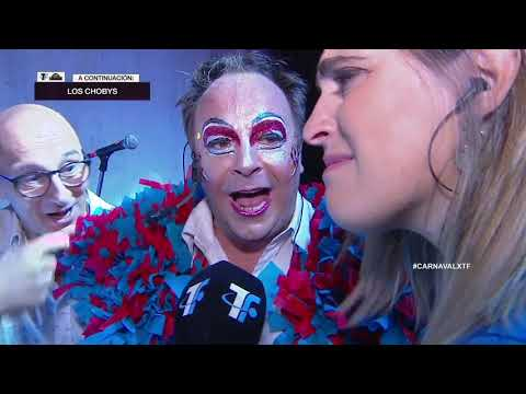 Ronda de Ganadores – Backstage Los Choby's – Carnaval 2020