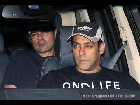 Salman Khan visits Sanjay Dutt before he goes to jail ...