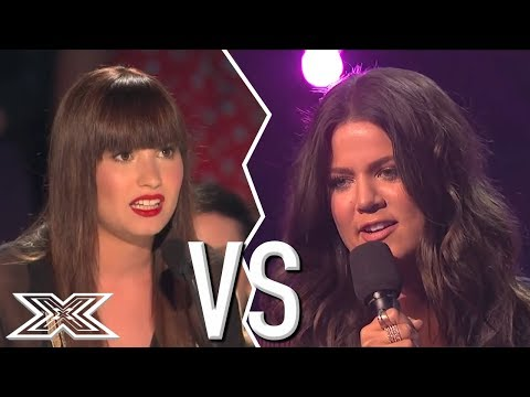 Khloe Kardashian CALLS OUT Demi Lovato LIVE On The X Factor | X Factor Global