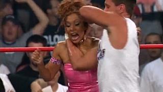 (720pHD): WCW Nitro 08/21/00 - Mysterio/Guerrera/Inferno (w/Tygress) vs. Jindrak/O