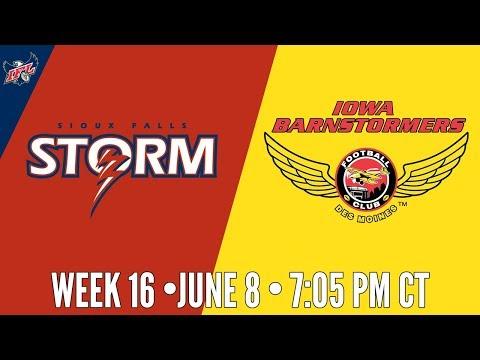 IFL Week 16 | Sioux Falls Storm at Iowa Barnstormers