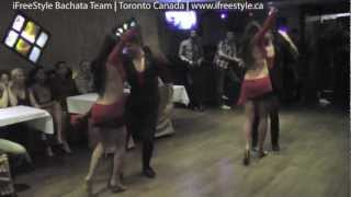 "iFreeStyle Bachata Team - ""Ella Se Fue"" @ Babaluu Supper Club, Nov 28/12"