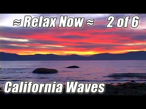 LAKE TAHOE + Fallen Leaf Lake #2 CALIFORNIA BEACHES relaxing sounds sunset Nevada summer