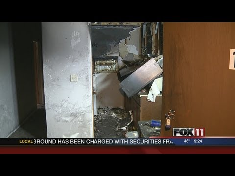 Fire department shows danger of kitchen fires