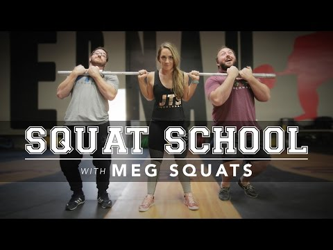 Squat School | MegSquats | JTSstrength.com