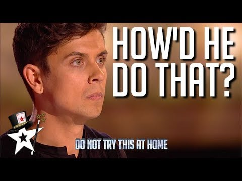 Illusionist Finalist Puzzles Judges on Britain's Got Talent 2019 | Magicians Got Talent