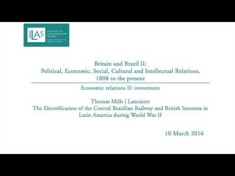 Britain and Brazil II: Economic relations II | investment - Thomas Mills