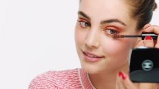 How to get Romy Schonberger's look from the SPRING-SUMMER 2021 COLLECTION – CHANEL Makeup Tutorials