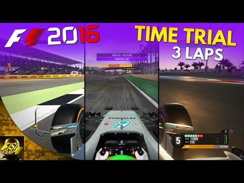 F1 2016   AOR Time Trial Laps: Silverstone / Brazil (Wet) / Abu Dhabi
