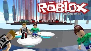 (Nuclear Plant Tycoon) Nova serie c/Joo #1 - Roblox