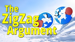 The ZigZag Argument - Flat Earth vs Round Earth