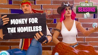 Dire & Calamity are HOMELESS!! Fortnite Season 6 Short Film