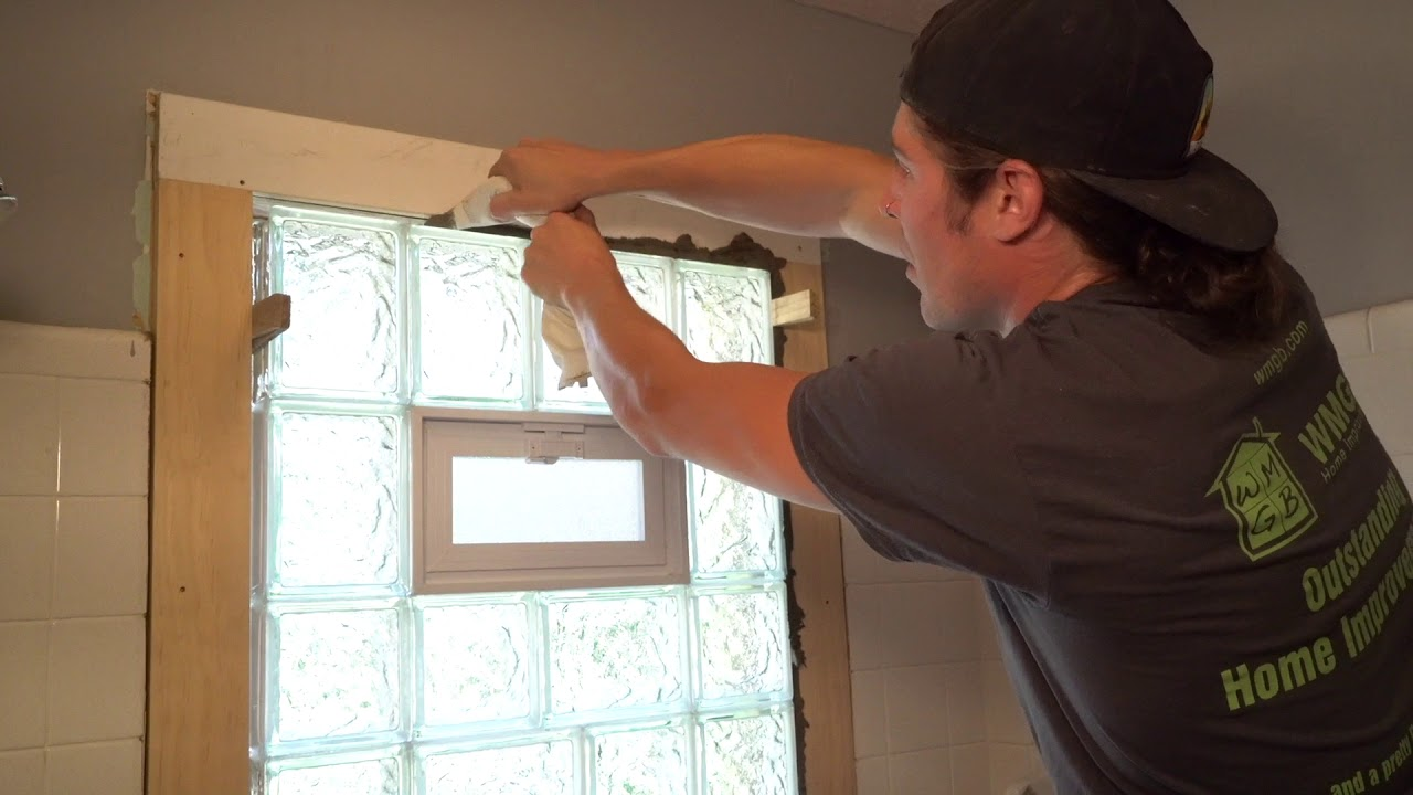 How To Install A Gl Block Window You