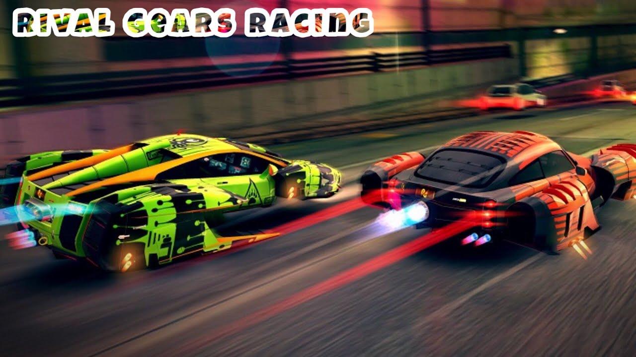 Game Đua Xe Siêu Tốc | Chơi Đua Xe ÔTô Siêu Độc Lạ | Game Rival Gears Racing