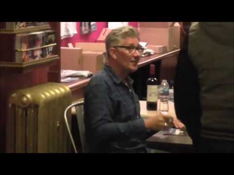 Count Arthur Strong After  Signing Liverpool Empire 23rd June 2017