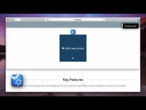 WebMate Builder   How to create a photo gallery