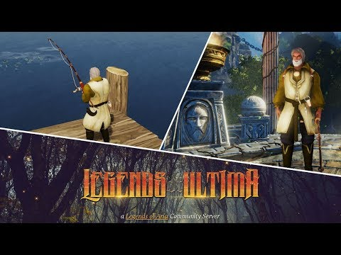 LEGENDS OF ULTIMA Gameplay, 1 Hour Fishing | Let's Play Legends of Aria