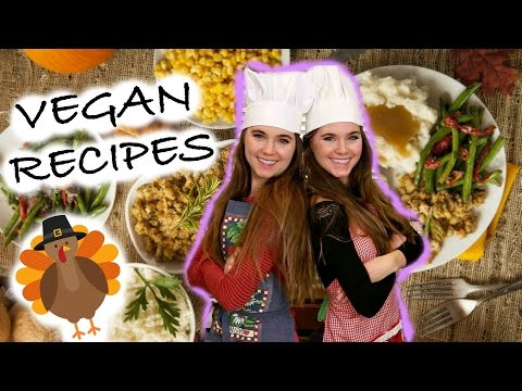 10 VEGAN Thanksgiving Recipes - EASY & HEALTHY | NinaAndRanda