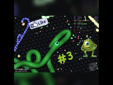 Slither.io Cobra Mike Wazoswki!
